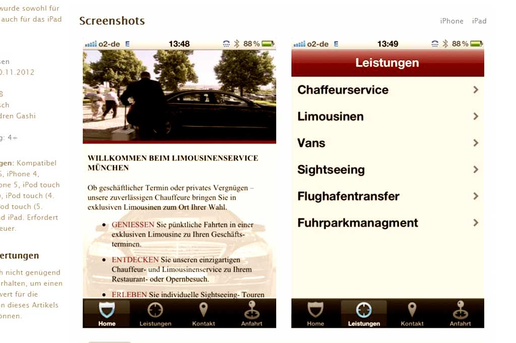 LSM App für iPhone und iPad