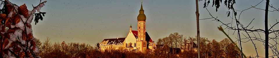 Sightseeing-Tour zum Kloster Andechs